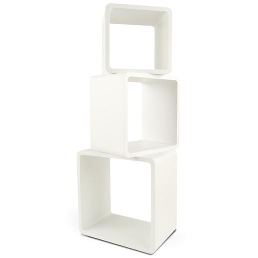 3 cube b cher regale wandregal h ngeregal lounge design. Black Bedroom Furniture Sets. Home Design Ideas