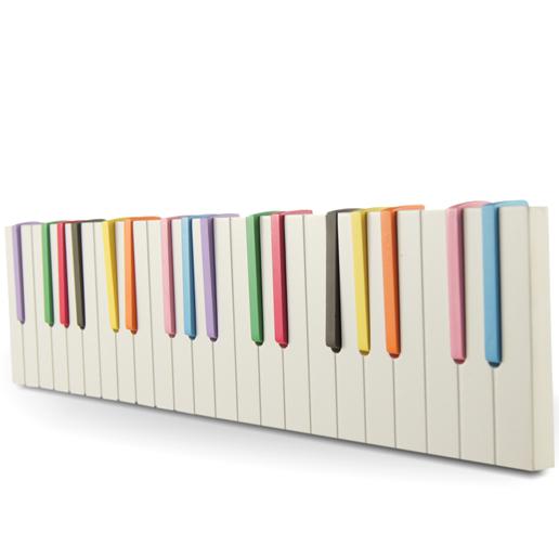 Wandgarderobe piano garderobe klavier haken flurgarderobe - Piano garderobe ...
