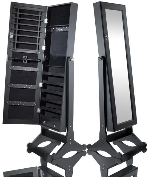 schmuckschrank spiegel bijoux schmuck spiegelschrank aufbewarhung q4 ebay. Black Bedroom Furniture Sets. Home Design Ideas